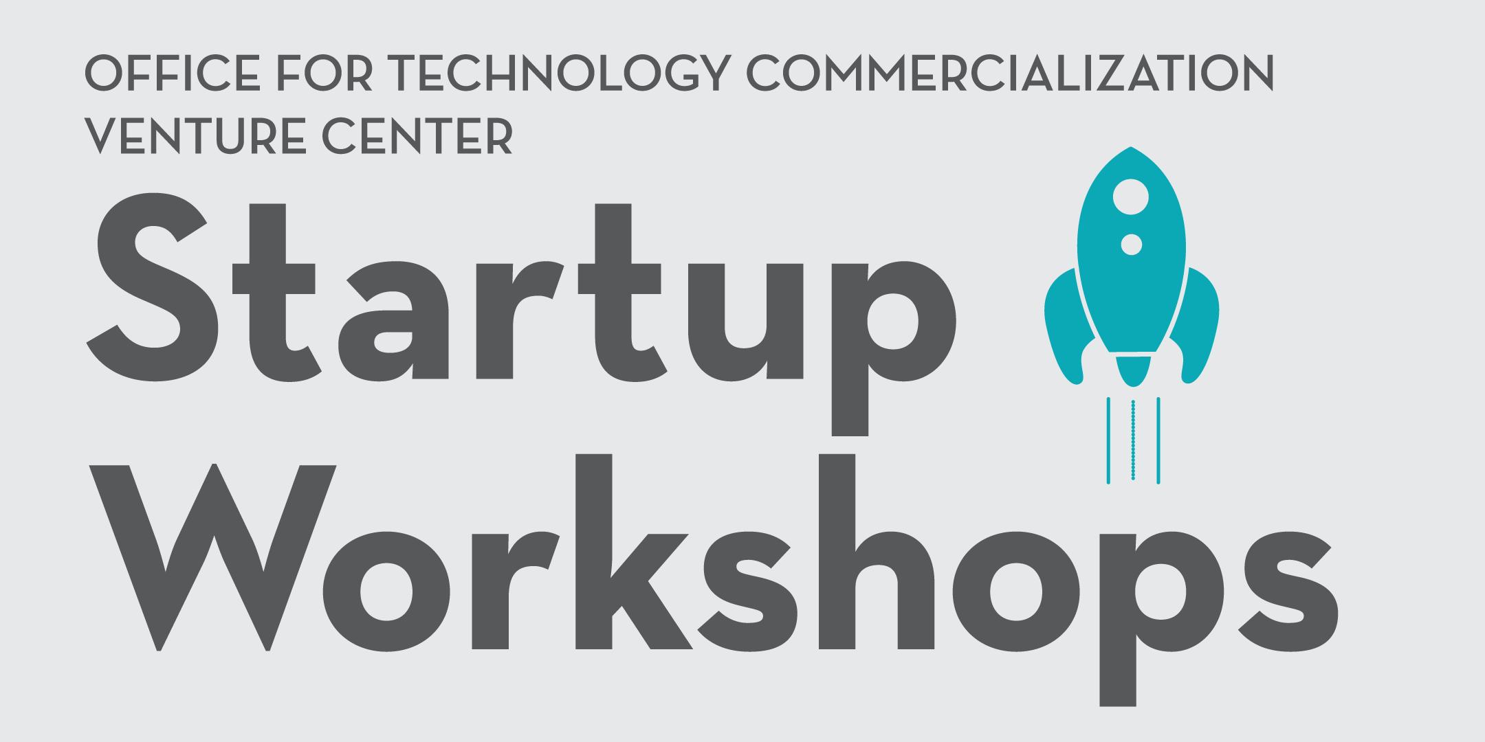 Venture Center Startup Workshop Logo